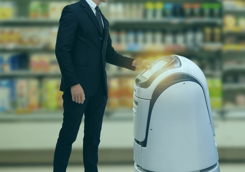 Robots and the Autonomous Retail