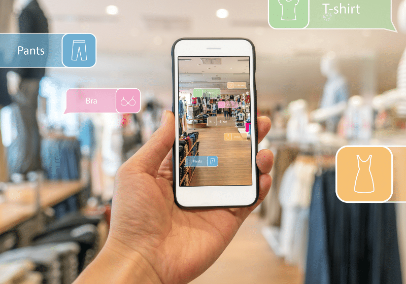 How will AR make the customer shopping experience easier?