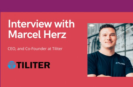 aiTech Trend Interview with Marcel Herz, CEO, and Co-Founder at Tiliter