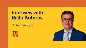 aiTechTrend Interview with Rado Kotorov, CEO at Trendalyze