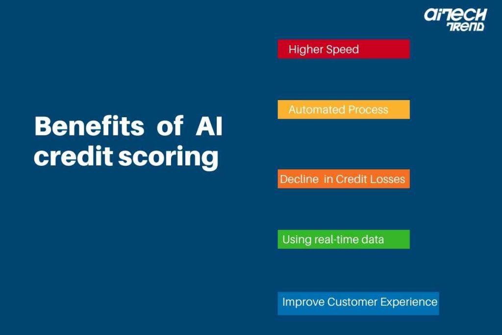 Artificial Intelligence credit scoring benefits