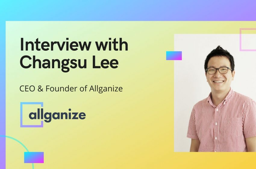 aiTech Trend Interview with Changsu Lee, Founder, and CEO of Allganize, Inc.