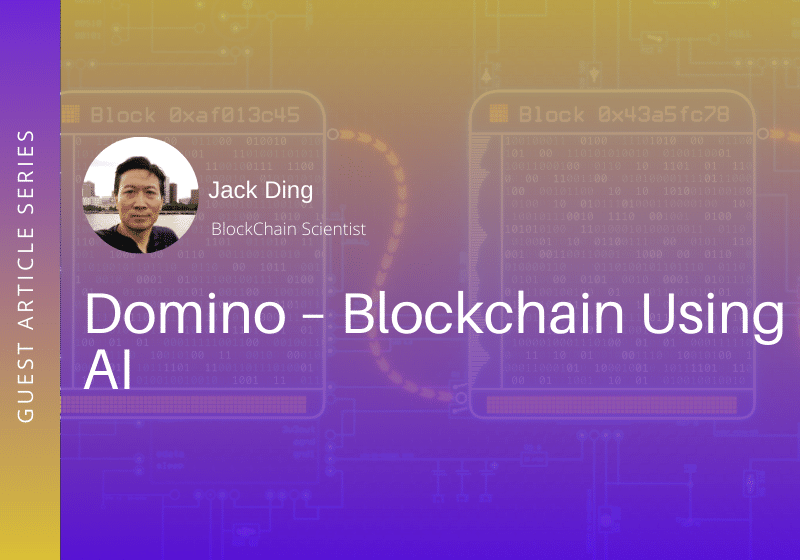 Domino – A Highly Scalable Blockchain Using AI for Mass Adoption